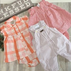 3 Pairs of Baby Clothes size 1m & 6m